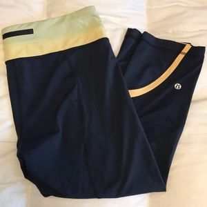 Lululemon crop pants size 12